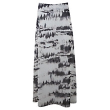Buy Mint Velvet Cara Print Maxi Skirt, Multi Online at johnlewis.com