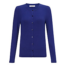 Buy COLLECTION by John Lewis Alice Long Sleeved Cardigan, Blue Online at johnlewis.com
