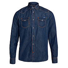 Buy Diesel Sonora Shirt, Denim Online at johnlewis.com