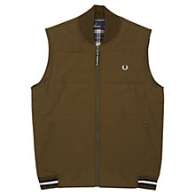 Buy Fred Perry Tipped Gilet, Thorn Online at johnlewis.com
