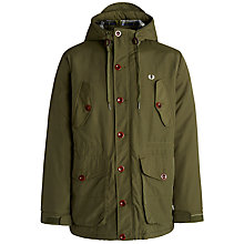 Buy Fred Perry Wadded Parka Jacket Online at johnlewis.com