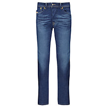 Buy Diesel Darron 607I Tapered Jeans, Dark Wash Online at johnlewis.com