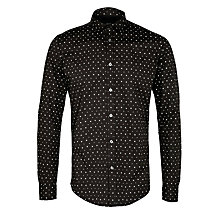 Buy Diesel Tapas Long Sleeve Shirt, Black Online at johnlewis.com