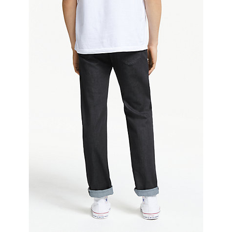 Buy Diesel Buster Regular Slim Tapered Jeans, Rinse Online at johnlewis.com