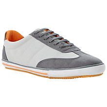 Buy Dune Teckers Wingtip Runner Trainers, Grey Online at johnlewis.com