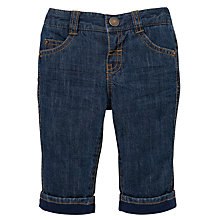 Buy John Lewis Authentic Denim Jeans, Blue Online at johnlewis.com