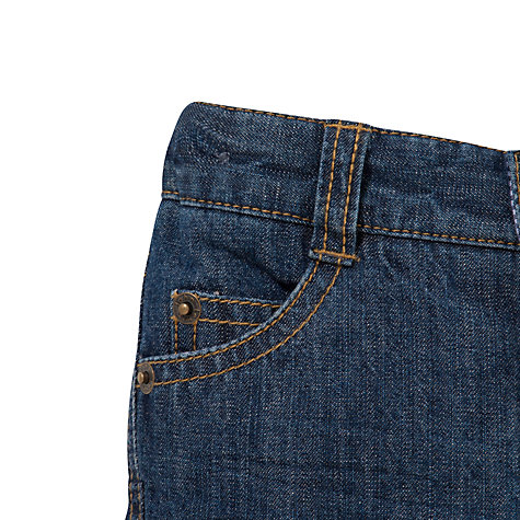 Buy John Lewis Baby Authentic Denim Jeans, Blue Online at johnlewis.com
