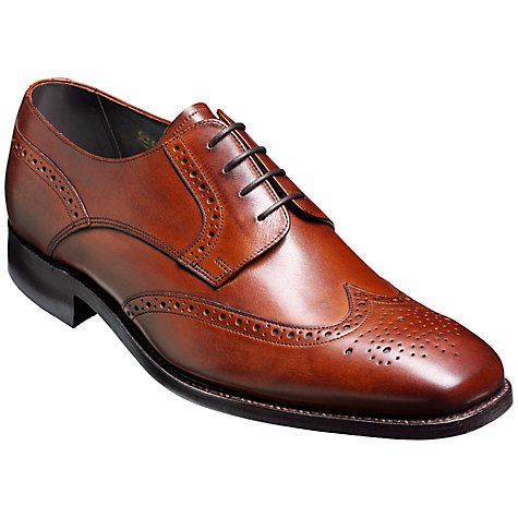 Buy Barker Toddington Leather Brogue Shoes Online at johnlewis.com