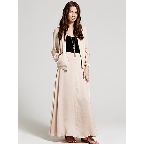 Buy Mint Velvet Maxi Skirt, Multi Online at johnlewis.com