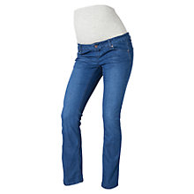 Buy Mamalicious Shelly Bootcut Jeans, Denim Blue Online at johnlewis.com
