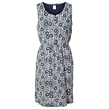 Buy Mamalicious Winna Sleeveless Maternity Dress, Whitecap Grey Online at johnlewis.com