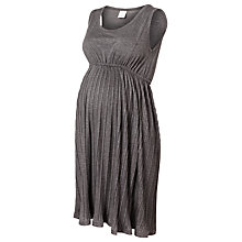 Buy Mamalicious Alicia Jersey Maternity Dress, Grey Online at johnlewis.com