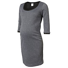 Buy Mamalicious Julia Bodycon Maternity Dress, Grey Online at johnlewis.com