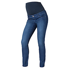 Buy Mamalicious Shelly Slim Fit Jeans, Blue Online at johnlewis.com