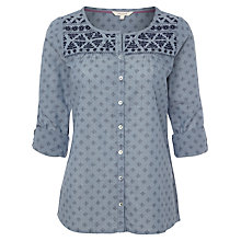 Buy White Stuff Etive Top, China Blue Online at johnlewis.com