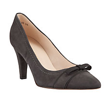 Buy Peter Kaiser Vermala Suede Court Shoes, Grey Online at johnlewis.com