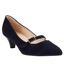 Buy Peter Kaiser Beborsia Court Shoes, Navy Online at johnlewis.com