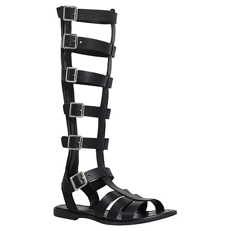 Buy KG by Kurt Geiger Leather Cut Out Boot Sandals Online at johnlewis.com