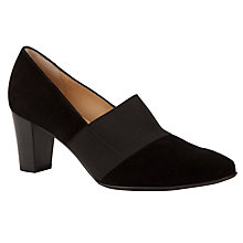Buy Peter Kaiser Dorna Court Shoes, Black Online at johnlewis.com