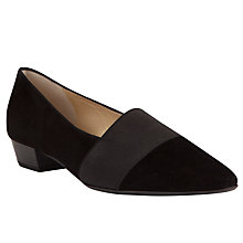 Buy Peter Kaiser Lagos Court Shoes, Black Online at johnlewis.com
