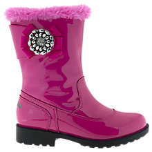 Buy Lelli Kelly Doris Patent Leather Boots, Pink Online at johnlewis.com