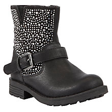 Buy Lelli Kelly Childrens' Polyvere Boots, Black Online at johnlewis.com
