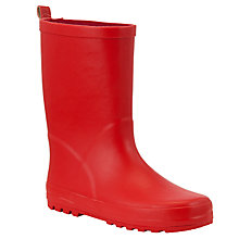 Buy John Lewis Children's Wellington Boots, Navy Online at johnlewis.com
