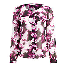 Buy Planet Floral Print Blouse, Multi Online at johnlewis.com