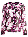 Planet Floral Print Blouse, Multi