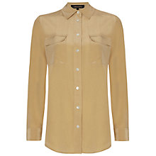 Buy Jaeger Patch Pocket Silk Blouse Online at johnlewis.com