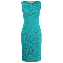 Buy Precis Petite Lace Shift Dress, Jade Online at johnlewis.com