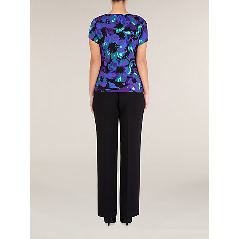 Buy Precis Petite Floral Print Top, Multi Online at johnlewis.com