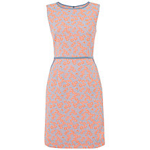 Buy Jaeger Floral Jacquard Shift Dress, Multi Online at johnlewis.com