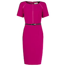 Buy Planet Belted Shift Dress, Cerise Online at johnlewis.com