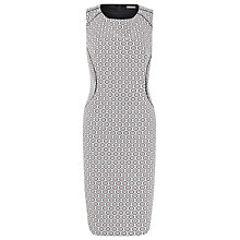 Buy Planet Jacquard Print Dress, Multi Online at johnlewis.com