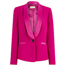 Buy Planet Tuxedo Jacket, Cerise Online at johnlewis.com