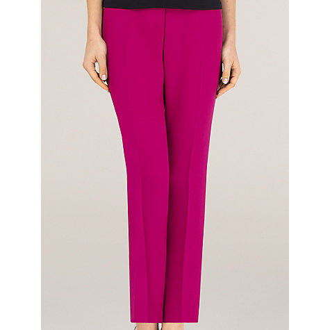 Buy Planet Tailored Trousers, Cerise Online at johnlewis.com
