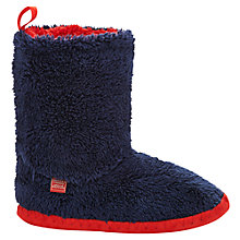 Buy Joules Slipper Socks, French Navy Online at johnlewis.com