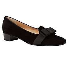 Buy Peter Kaiser Nonama Slip On Shoes, Black Online at johnlewis.com