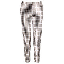 Buy Somerset by Alice Temperley Puppytooth Cotton Pants, Blush Multi Online at johnlewis.com