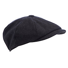Buy JOHN LEWIS & Co. Melton Baker Boy Flat Cap Online at johnlewis.com