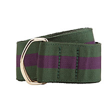 Buy Smart Turnout Striped Belt Online at johnlewis.com