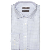 Buy John Lewis Chevron Tailored Shirt, Blue Online at johnlewis.com