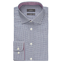 Buy John Lewis Grid Check Tailored Shirt Online at johnlewis.com