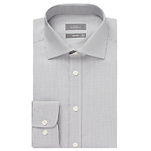 Buy John Lewis Tonal Puppytooth Tailored Shirt Online at johnlewis.com