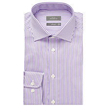 Buy John Lewis Satin Bengal Stripe Tailored Shirt Online at johnlewis.com