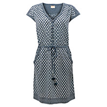 Buy East Shivani Print Tunic, Indigo Online at johnlewis.com