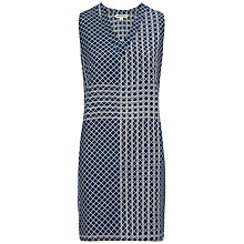 Buy Whistles Veranda Print Dress, Blue Online at johnlewis.com