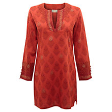 Buy East Beach Bright Kurta, Mandarin Online at johnlewis.com