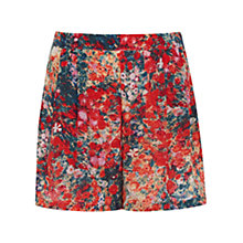 Buy Oasis Blurred Ditsy Skort, Multi Online at johnlewis.com